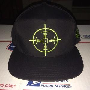 ec1cbbabb2b89a Mishka Accessories - Mishka Sniper Scope Snapback SAMPLE Supreme MNWKA
